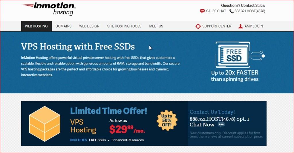 inmotion -best vps host provider