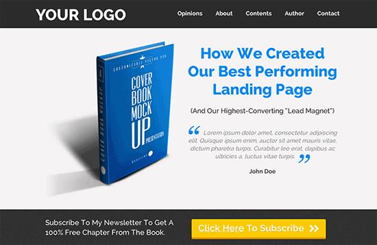 leadpages wordpress landing page plugin