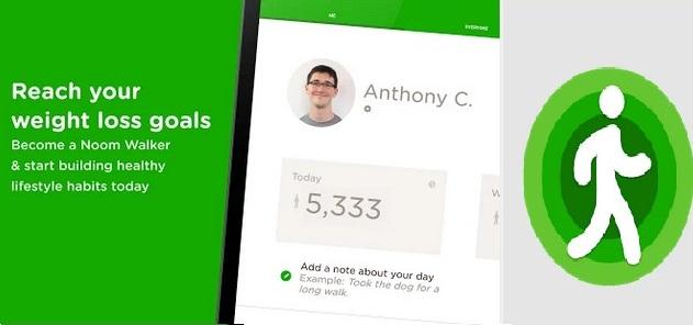 noom walk pedometer android app